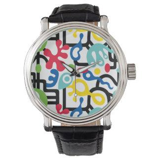 Dispositivo de seguridad retro relojes de pulsera