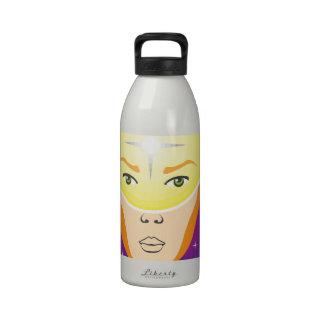 Dispositivo humano botella de beber