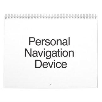 Dispositivo personal de la navegación calendarios de pared
