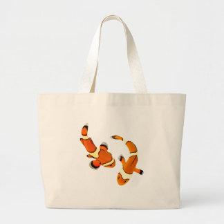 Disputa Clownfish Bolsa Tela Grande