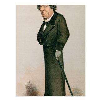Disraeli, Benjamin Postcard