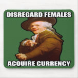 Disregard Females $13.95 Mousepad