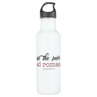 Disrupt the patriarchy Read Romance water bottle