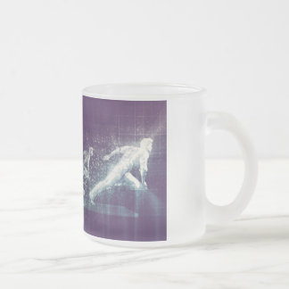 Disruptive Technologies and Innovation in the Tech Frosted Glass Coffee Mug