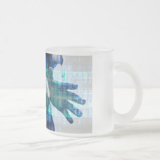 Disruptive Technology and Innovation in New Market Frosted Glass Coffee Mug