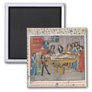 Dissection lesson  Faculty of Medicine 2 Inch Square Magnet