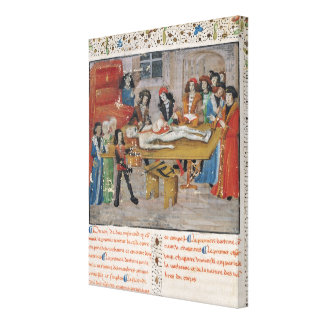Dissection lesson  Faculty of Medicine Canvas Print