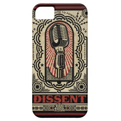 Dissent Case iPhone 5 Covers