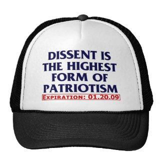 Dissent expired 01 20 09 hat