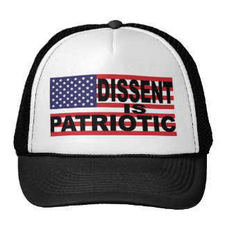 Dissent is Patriotic Trucker Hat