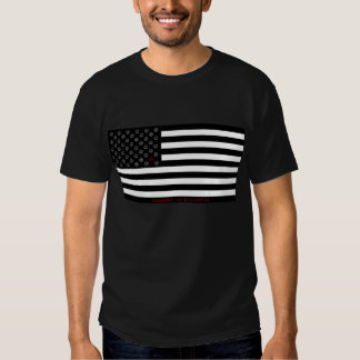 """""""dissent is patriotic"""" smiley flag t shirt"""