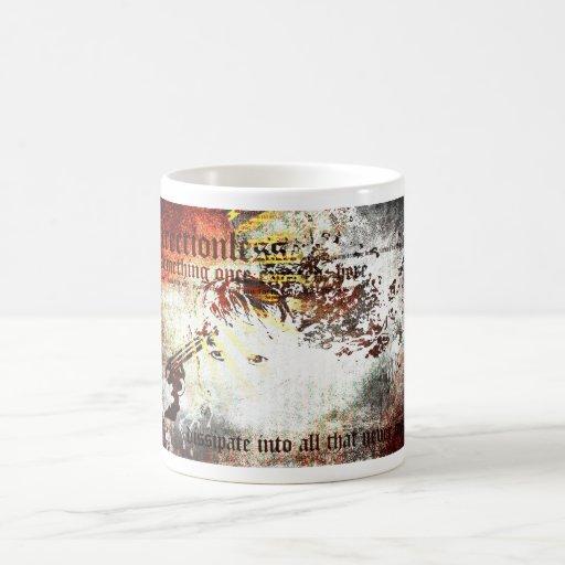 dissipate coffee mugs