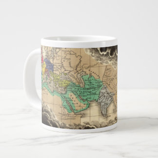 Dissolution of The Empire of Charlemagne 912 AD Giant Coffee Mug