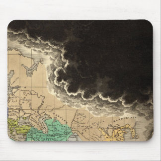 Dissolution of The Empire of Charlemagne 912 AD Mouse Pad