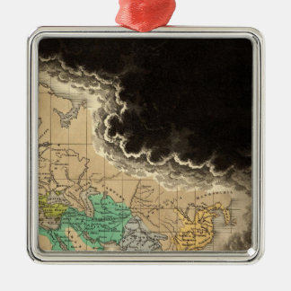 Dissolution of The Empire of Charlemagne 912 AD Christmas Tree Ornament