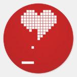 Dissolution Round Sticker