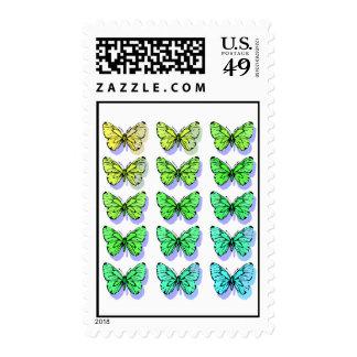 Dissolving Butterflies Postage
