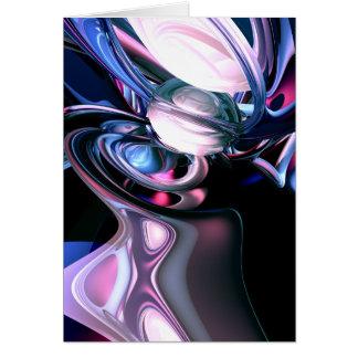 Dissolving Imagination Abstract Card