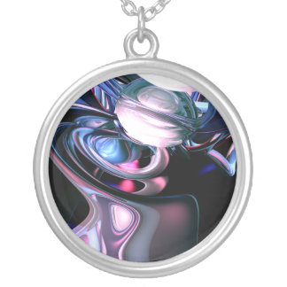Dissolving Imagination Abstract Necklace