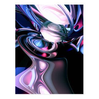 Dissolving Imagination Abstract Postcard