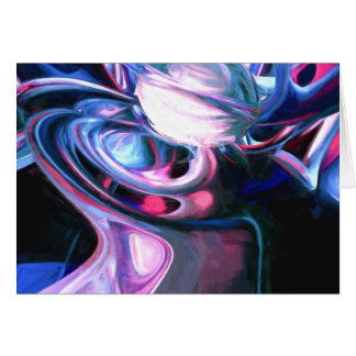 Dissolving Imagination Painted Abstract Cards