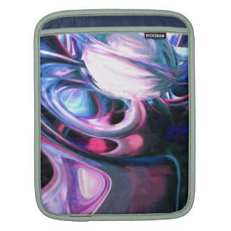 Dissolving Imagination Painted Abstract iPad Sleeve