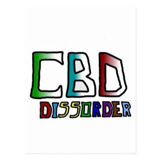 Dissorder de CBD Tarjetas Postales