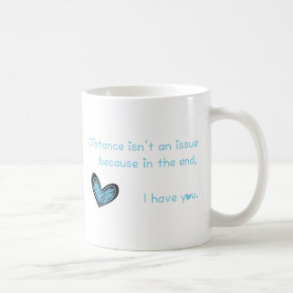 Distance isn't an issue... coffee mug