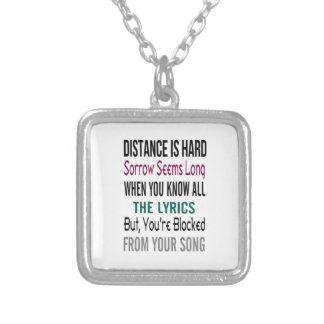 "Distance Necklace ""Rachel Wicks"""