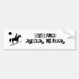 Distance Rider's Bumper Sticker
