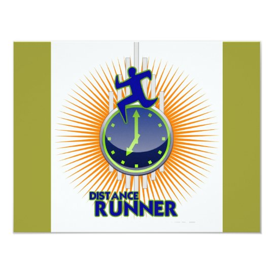 DISTANCE RUNNER PRODUCTS CARD