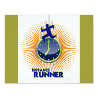 DISTANCE RUNNER PRODUCTS 4.25X5.5 PAPER INVITATION CARD