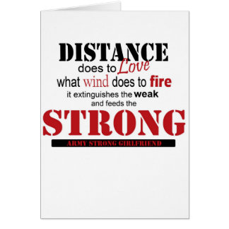 distance, strong card