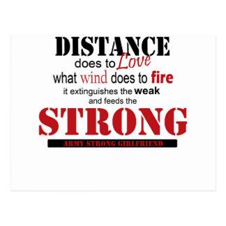 distance, strong postcard