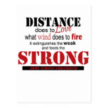 distance, strong postcards