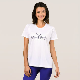 Distance Traveled Endurance Logo Women's Tech Tee