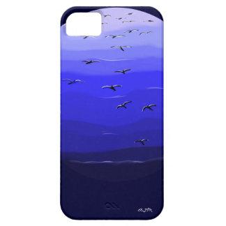 Distancia azul - 5 Barely iPhone iPhone 5 Carcasas