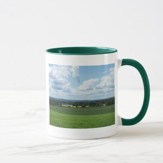 Distant Farm Mug