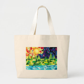 Distant Future Large Tote Bag