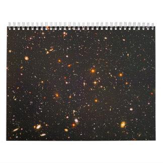 Distant Galaxy Wall Calendar