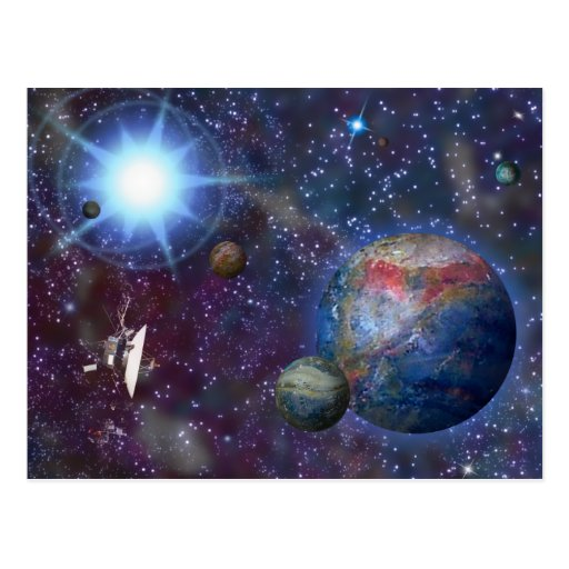 Distant Galaxy Post Cards