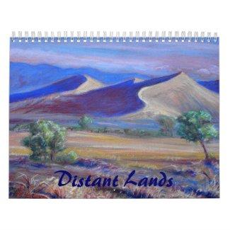 Distant Lands Fine Art Calendar calendar