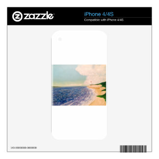 distant lighthouses iPhone 4 skin