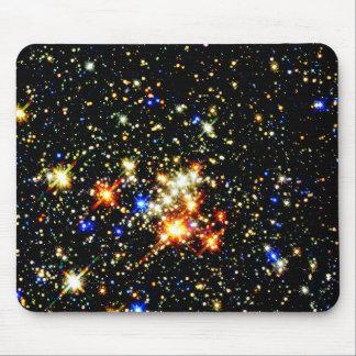 Distant Luminous Stars Mouse Pad