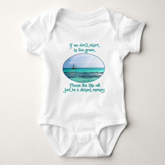 Distant Memory Baby Bodysuit