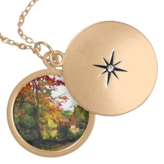 Distant Mill in Autumn Jewelry