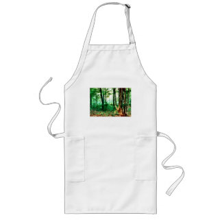 Distant Mist Long Apron