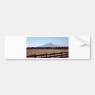 distant mountain.jpg bumper sticker