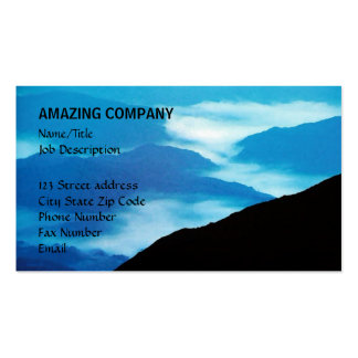 Distant Mountains Double-Sided Standard Business Cards (Pack Of 100)