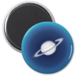 Distant Planet 2 Inch Round Magnet